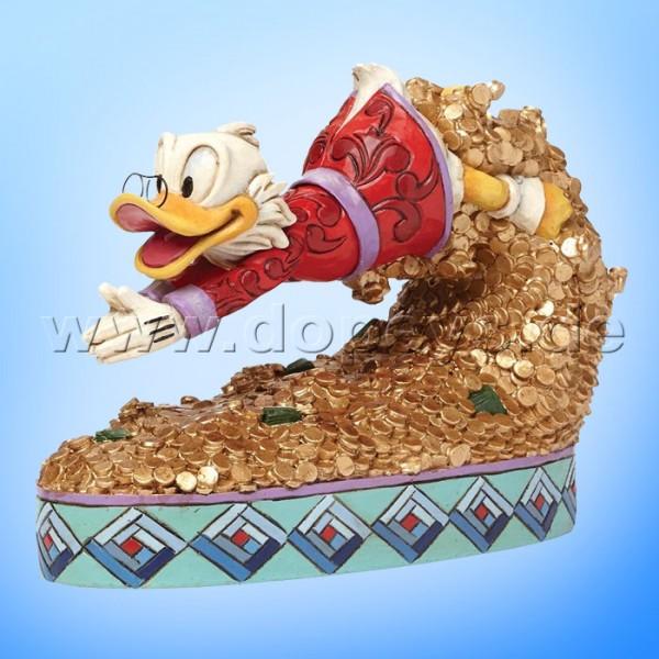 "Disney Traditions / Jim Shore Figur von Enesco.""Treasure Dive (Dagobert Duck)"" 4046055."