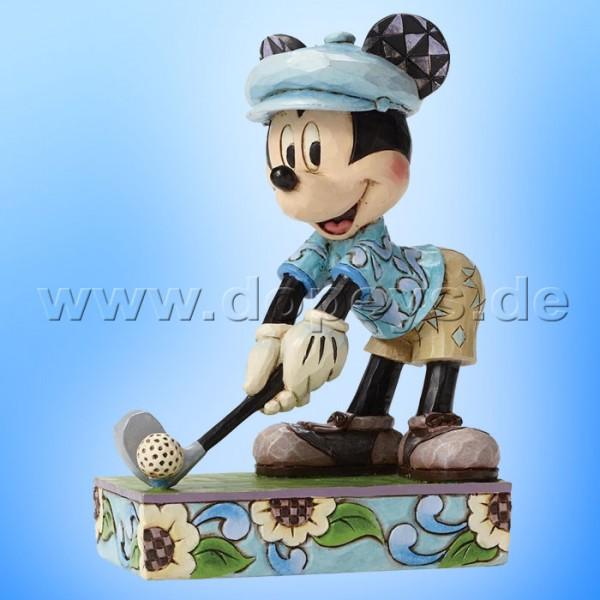 "Disney Traditions / Jim Shore Figur von Enesco.""Hole in One (Golfer Mickey Maus)"" 4050392."