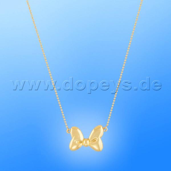 Disney Halskette - Schleife (Minnie Maus) in Gold von Couture Kingdom 12100961