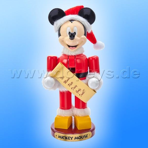 """Kurt S. Adler - Disney Nussknacker """"Mickey Maus"""" als Weihnachtsmann DN6191L"""