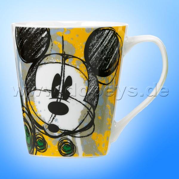 Disney Kaffeetasse Mickey Grafik im italienischen Design