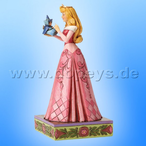 "Disney Traditions / Jim Shore Figur von Enesco ""Wonder and Wisdom (Aurora mit Fee)"" 4054275."