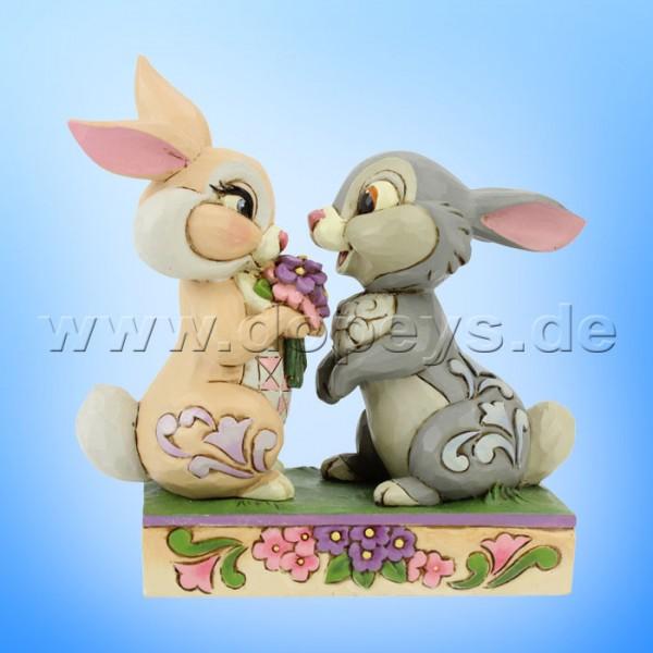 Bunny Bouquet (Klopfer & Fräulein Kaninchen) Figur von Disney Traditions / Jim Shore - Enesco 6005963