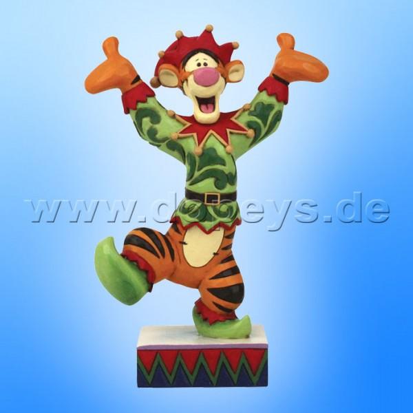 Disney Traditions - Ecstatic Elf (Tigger als Weihnachtself) von Jim Shore 6008983