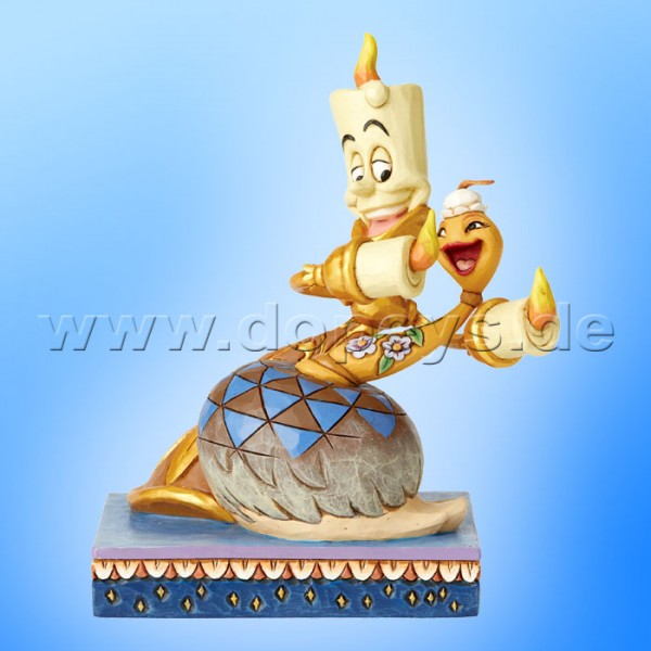 Romance By Candlelight (Lumiere & Staubwedel Plumette) Figur von Disney Traditions / Jim Shore - Enesco 6002814