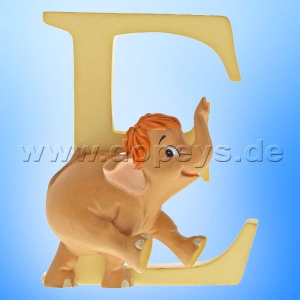 "Enchanting Disney Collection - Buchstabe ""E"" - Baby Elefant Hathi Jr. Figur von Enesco A29550"