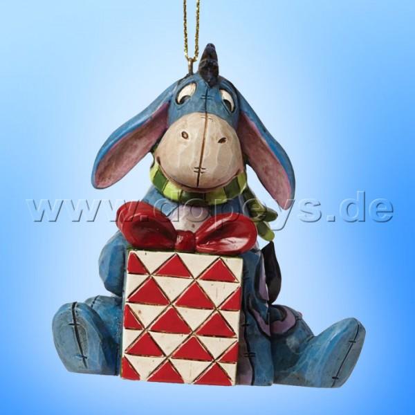 """Disney Traditions / Jim Shore Figur von Enesco.""""I-Aah Ornament Baumanhänger"""" A27553."""