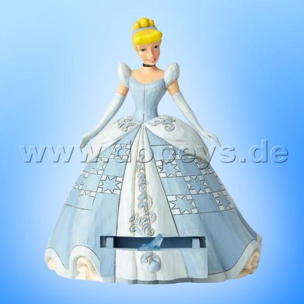 "Disney Traditions / Jim Shore Figur von Enesco ""Cinderella's Secret Charm (Cinderella mit Schmuckkasten)"" A29506"