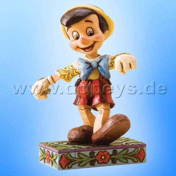 "Disney Traditions / Jim Shore Figur von Enesco. ""Lively Step (Pinocchio)"" 4010027."
