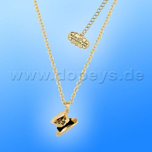Disney Halskette - Hutmacher (Alice im Wunderland) in Gold von Couture Kingdom 12100261