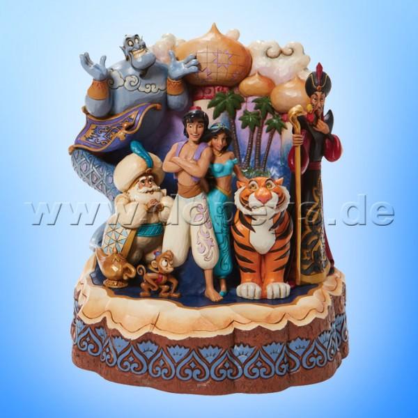 Disney Traditions - Arabian Nights (Aladdin Baumstamm) von Jim Shore 6008999
