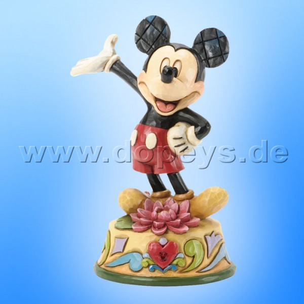 "Disney Traditions / Jim Shore Figur von Enesco ""Juli (Mickey Maus)"" 4033964."