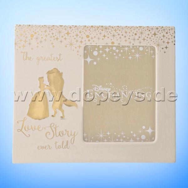 Die Schöne und das Biest Hochzeits-Bilderrahmen aus der Disney Enchanting Collection von Enesco A29334
