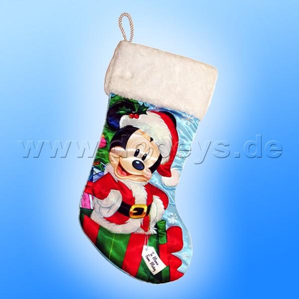 """Kurt S. Adler - Disney Weihnachtsstrumpf """"Weihnachtsmann Mickey"""" Mickey Maus DN7161"""