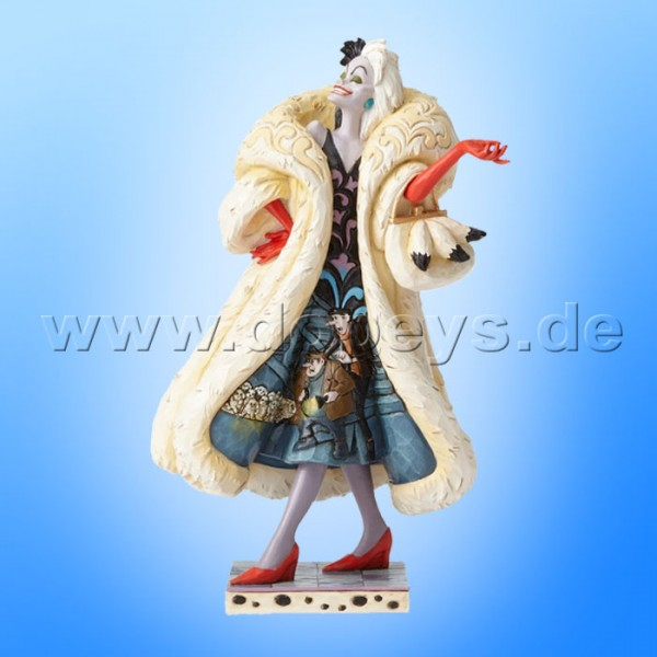"Disney Traditions / Jim Shore Figur von Enesco ""Devilish Dognapper (Cruella De Vil)"" 4055440."
