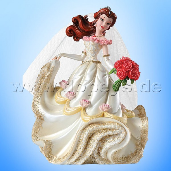 "Disney Showcase Collection von Enesco ""Belle Hochzeitsfigur"" 4045444 Haute Couture"