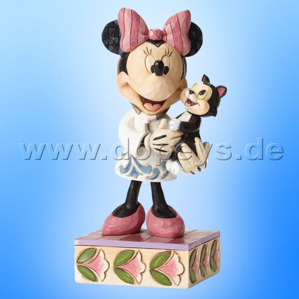 "Disney Traditions / Jim Shore Figur von Enesco.""Tender Love and Care (Tierärztin Minnie Maus)"" 4049631."