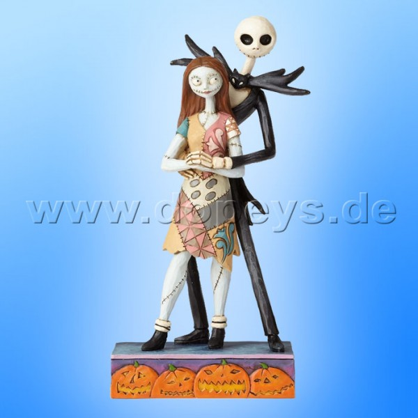 "Disney Traditions / Jim Shore Figur von Enesco ""Fated Romance (Jack & Sally)"" 4057951"