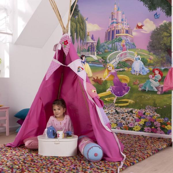 "Disney Fototapete ""Princess Sunset"""