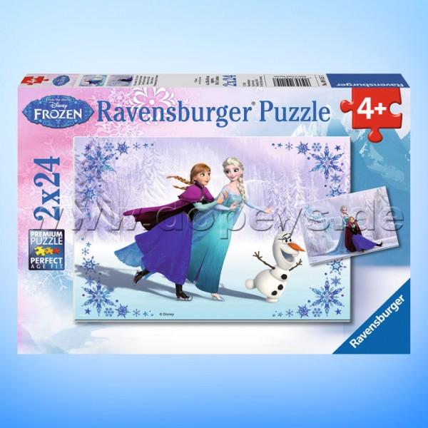 """Disney Puzzles Die Eiskönigin """"Schwestern für immer"""" von Ravensburger 09115"""