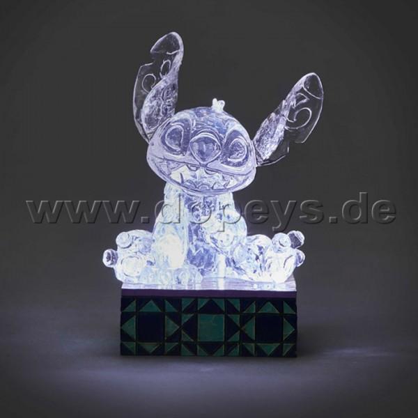 "Disney Traditions / Jim Shore Figur von Enesco ""Stitch Illuminated (Stitch Eis-Skulptur)"" 4059928"