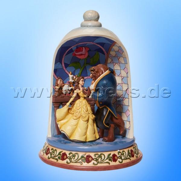 Disney Traditions - Enchanted Love (Die Schöne und das Biest in der Rosenglocke) von Jim Shore 6008995