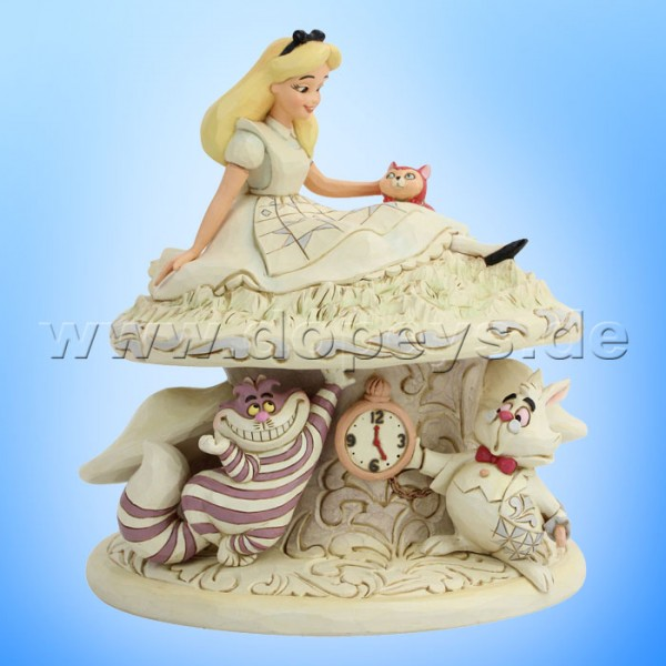 Whimsy and Wonder (Alice im Wunderland White Woodland) Figur von Disney Traditions / Jim Shore - Enesco 6005957