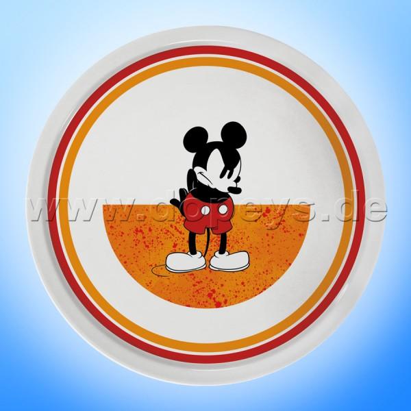 """Disney Pizzateller / Servierplatte / Tortenplatte """"Orange"""" Mickey I Am, im italienischen Design PWM37AM-5A"""