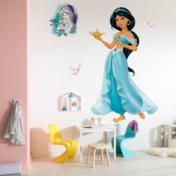 """Disney Vlies Fototapete selbstklebend Aladdin """"Jasmin XXL"""" 127cm x 200cm"""