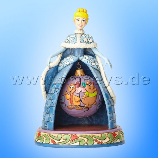 "Disney Traditions / Jim Shore Figur von Enesco ""Tidings Of Friendship (Weihnachts Cinderella)"" 4057945."