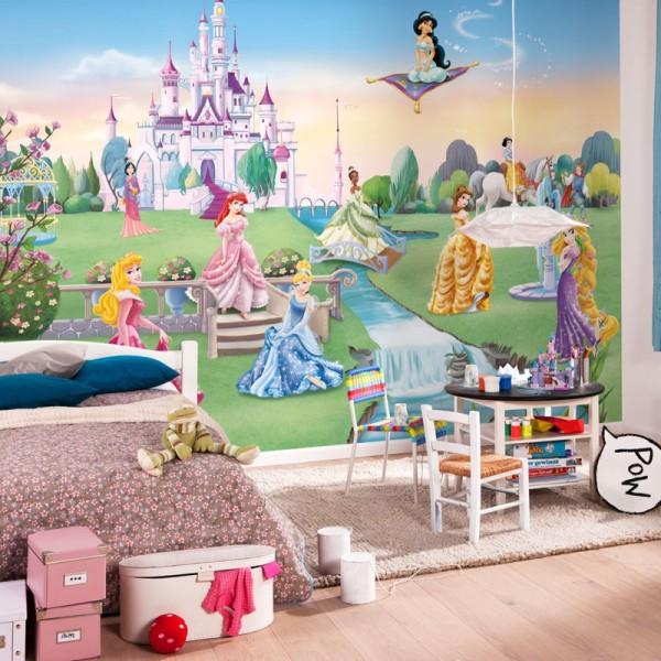 "Disney Fototapete ""Princess Castle"""