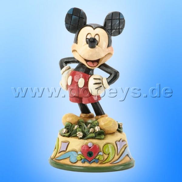 "Disney Traditions / Jim Shore Figur von Enesco ""Mai (Mickey Maus)"" 4033962."