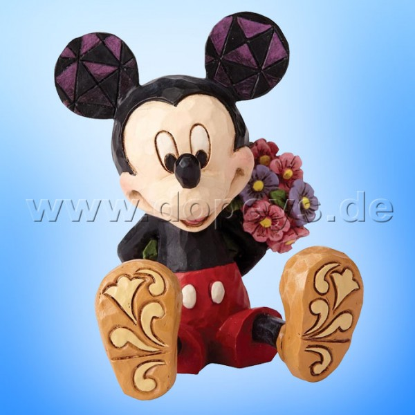 "Disney Traditions / Jim Shore Figur von Enesco ""Mini Mickey Maus mit Blumen"" 4054284"