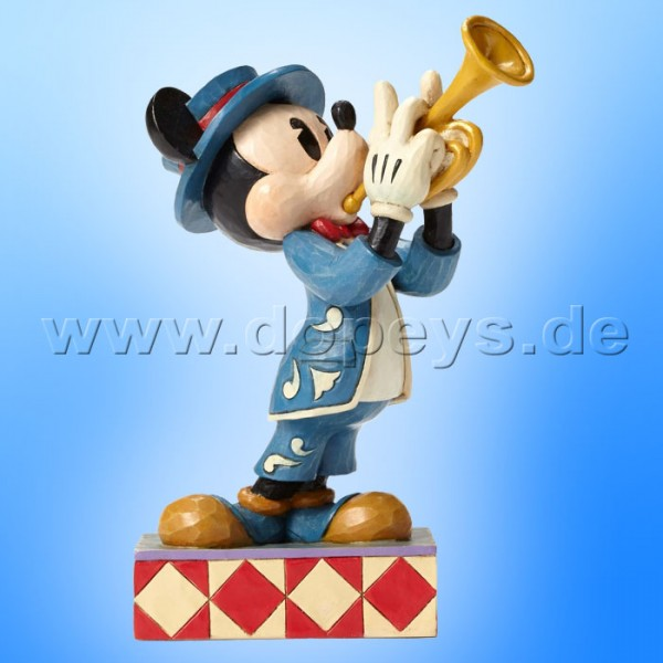 "Disney Traditions / Jim Shore Figur von Enesco. ""Bugle Boy (Mickey)"" 4050385."