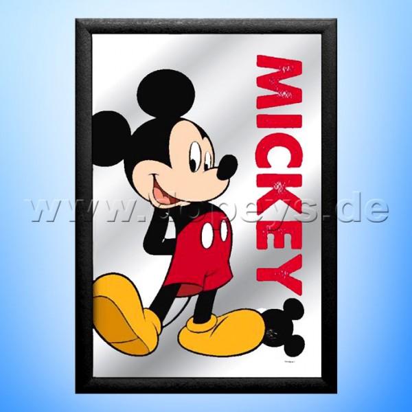 "Disney Wandspiegel / Motivspiegel - Mickey Maus ""Through the Looking-Glass"" 20 x 30cm HN18320"