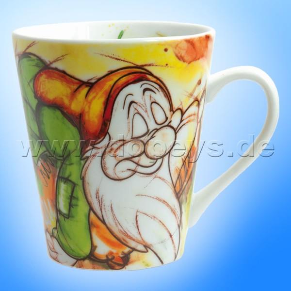 """Disney Tasse / Becher """"Schlafmütze"""" im italienischen Design, 38 cl"""