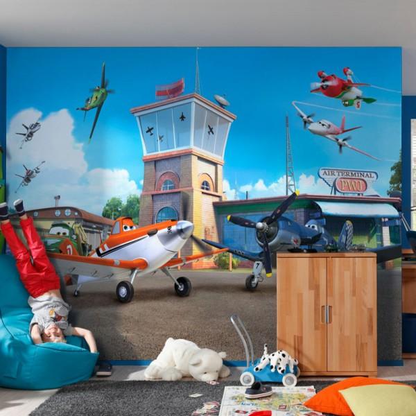 "Disney Fototapete ""Planes Terminal"""