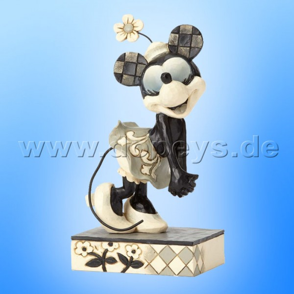 "Disney Traditions / Jim Shore Figur von Enesco ""Good-hearted Gal (Minnie Get A Horse)"" 4056758."