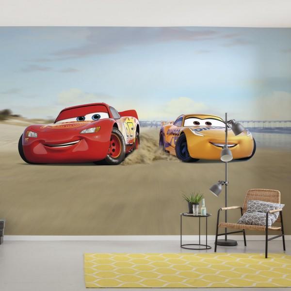 "Disney Fototapete ""Cars Beach Race"""