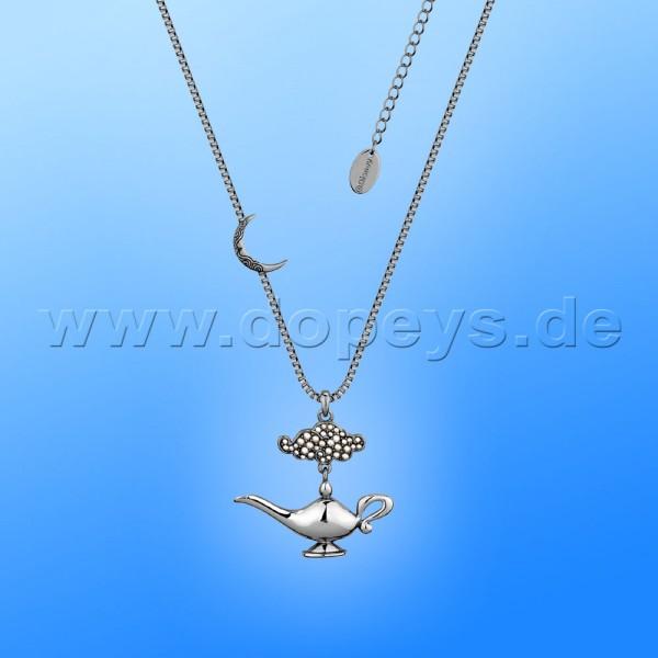 Disney Halskette - Dschinni Lampe (Aladdin) in Weißgold von Couture Kingdom 12101741