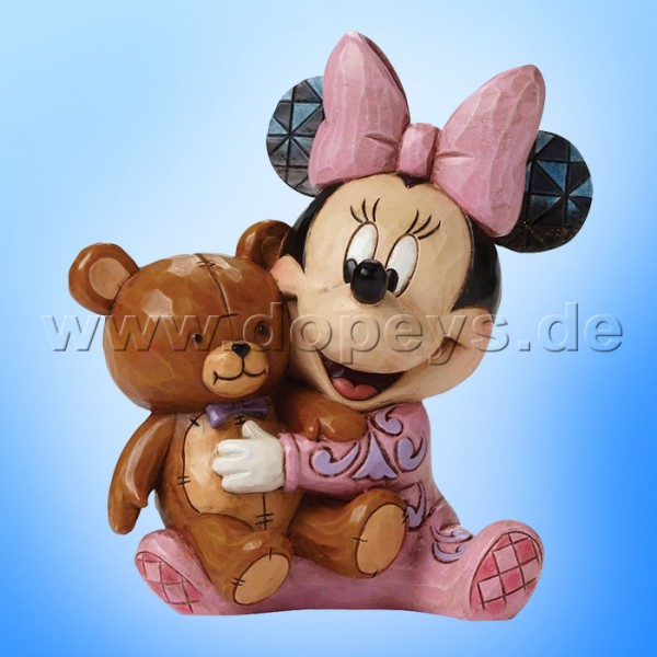 "Disney Traditions / Jim Shore Figur von Enesco.""Bed Time Besties (Baby's erste Minnie Maus)"" 4049023."
