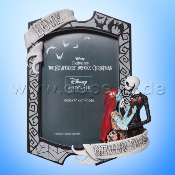 Disney Showcase Collection - The Nightmare Before Christmas Bilderrahmen (Jack & Sally) 6008702 Couture de Force