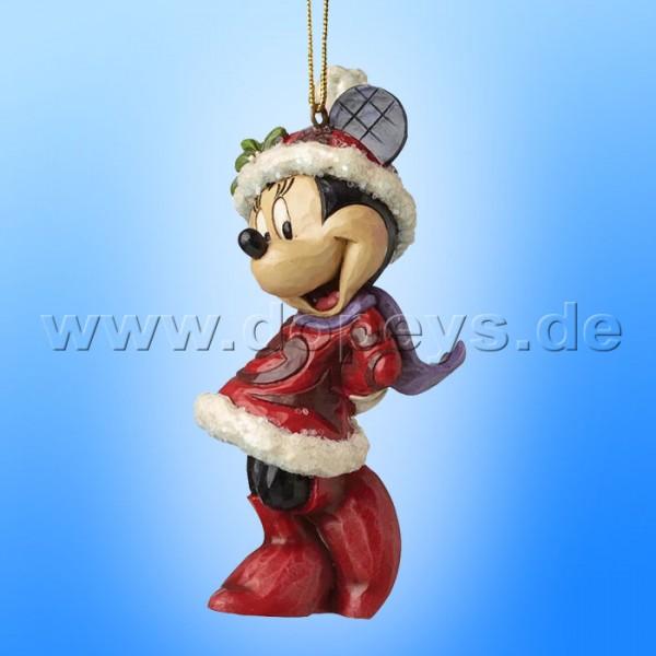 "Disney Traditions / Jim Shore Figur von Enesco ""Sugar Coated Minnie Maus Ornament Baumanhänger"" A28240."