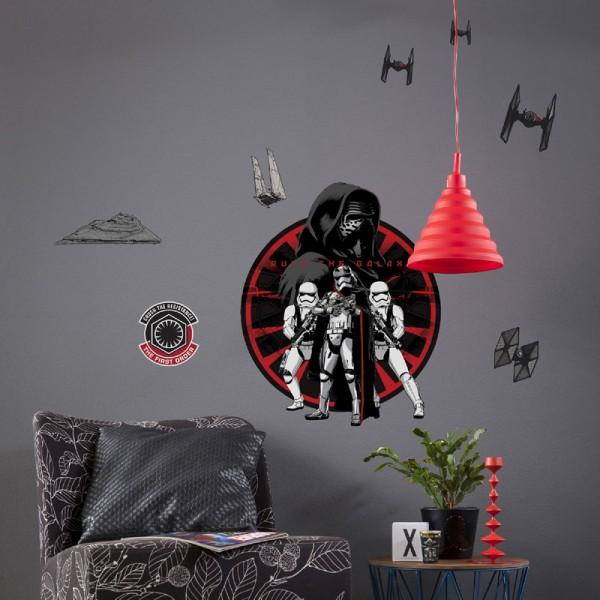 """Star Wars Wandsticker / Wandaufkleber Darth Vader """"First Order"""""""