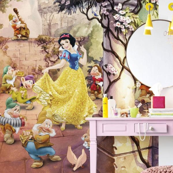 """Disney Schneewittchen Fototapete """"Dancing Snow White"""""""