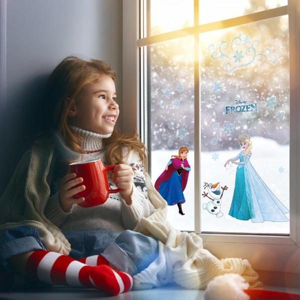 """Disney Fensteraufkleber / Window-Sticker Die Eiskönigin """"Frozen Snowflake"""""""