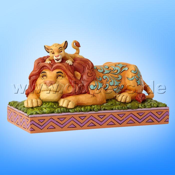 Jim Shore Disney Remember Who you Are Lion King Storybook Simba Mufasa 6001269