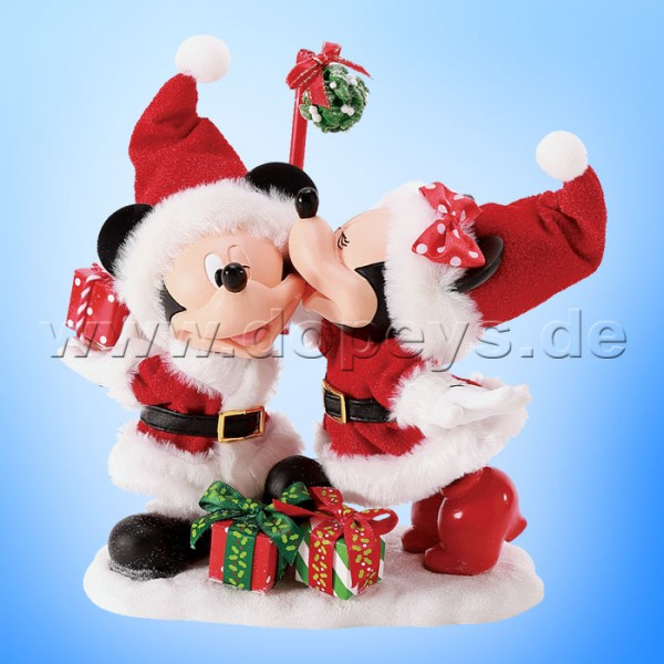 Disney Possible Dreams - Big Kiss (Mickey & Minnie als Weihnachtsmann) Figur 6008568