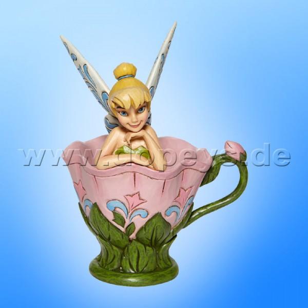 Disney Traditions - A Spot of Tink (Tinker Bell sitzt in einer Blumentasse) von Jim Shore 6008076