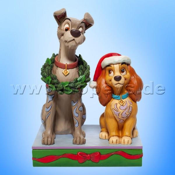 Disney Traditions - Decked out Dogs (Susi und Strolch feiern Weihnachten) von Jim Shore 6007071